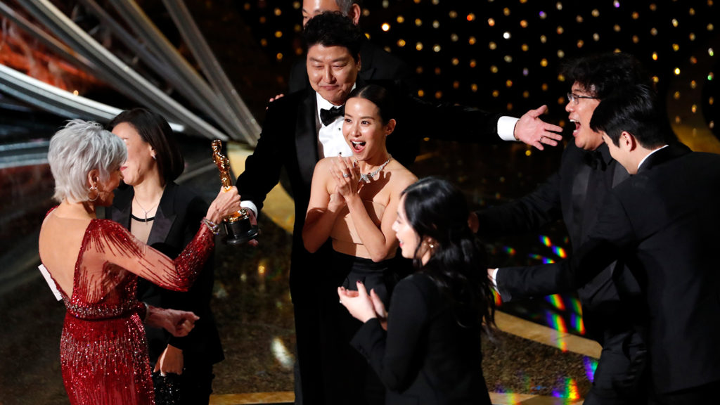 Корейский фильм «Паразиты» выиграл «Оскар»