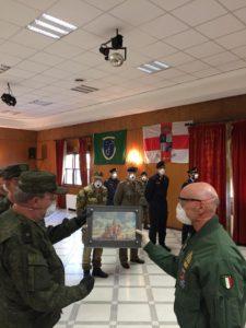 Bergamo-Italiya.Zam-nachal'nika-vojsk-RHB-zashchity-Vooruzhennyh-Sil-RF-general-major-Sergej-Kikotya-i-nach-gen-shtaba-vooruzhennyh-sil-Ital'yanskoj-Respubliki-general-Enco-Vicherelli