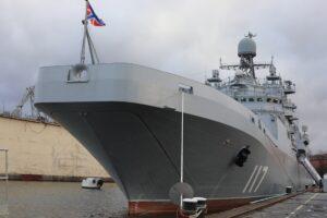 Илл.1 Большой десантный корабль «Петр Моргунов». Источник: ДИМК МО РФ